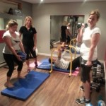 Work out with Lisa Sims at Mama Fit Fitness Studio