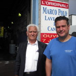 Marco and Mauro Piccioni at their car wash in Ville Lasalle