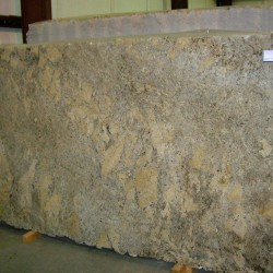 Granite block in beige tones