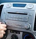 Modern car radio