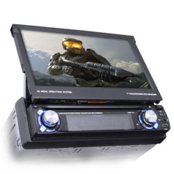 Modern auto radio with a video screen
