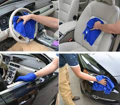 Auto detailing performed on the interior and exterior of a car