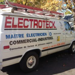 Électroteck Electrician offers his services in the West Island and all Montreal area